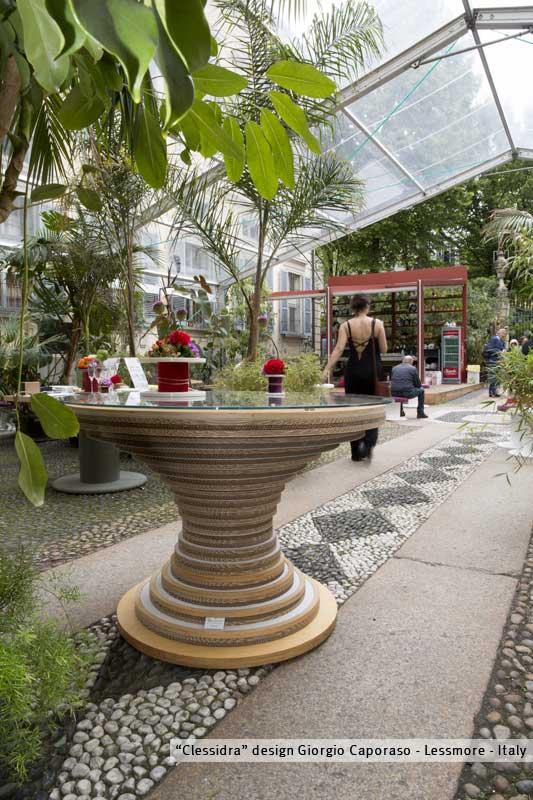 Green living lessmore for milano food city for Arredi ecosostenibili